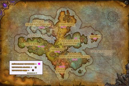 Карта для прокачки в Дреноре